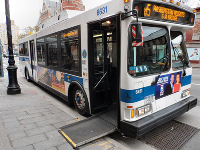 حمل و نقل عمومی برای معلولین در نیویورک