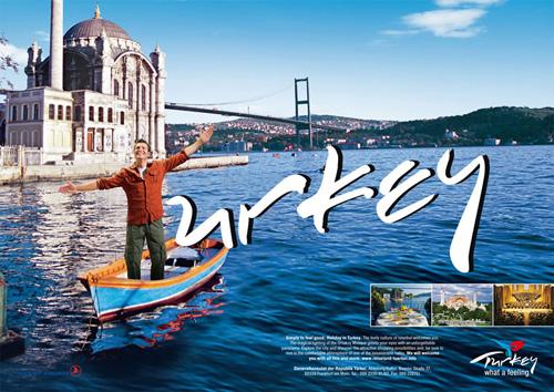 تبلیغات ترکیه در زمینه جذب توریست