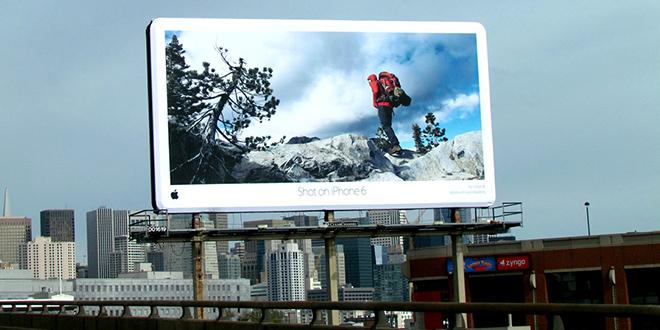 کمپین گالری جهانی اپل شامل تصاویری بود که کاربران با استفاده از گوشیهای آیفون 6 خود تهیه کرده بودند.