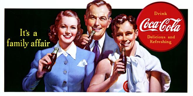 ۱۲۶ سال تبلیغات کوکاکولا در یک نگاه