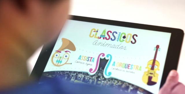 جلب توجه کودکان به موسیقی کلاسیک با استفاده از یک اپلیکیشن
