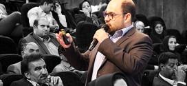 سخنرانی بابک بادکوبه در همایش مدیران بیمۀ دی