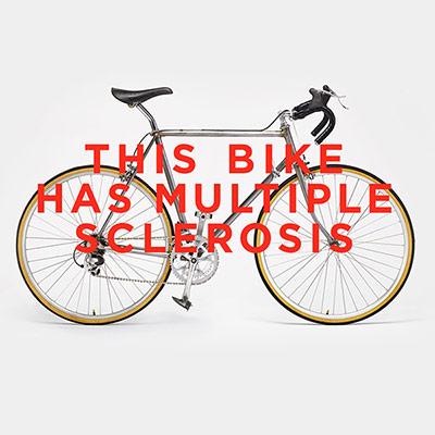 کمپین «این دوچرخه اماس دارد» برای افزایش آگاهی عمومی