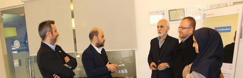 بازدید مدیرکل اداره فرهنگ و ارشاد استان تهران از بادکوبه